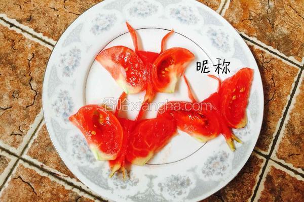 番茄蝴蝶花