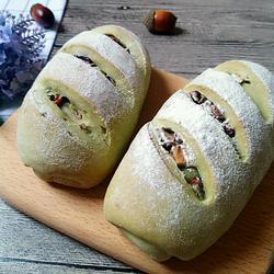 抹茶红枣硬质列巴面包