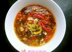 蕃茄苦瓜紫菜蛋花汤