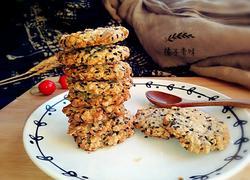 燕麦黑芝麻饼干