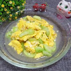 丝瓜炒山鸡蛋