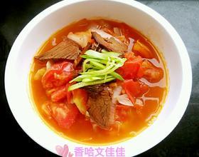 蕃茄洋葱山药牛肉汤