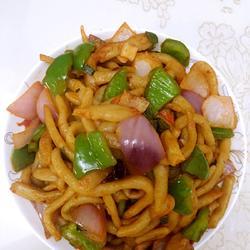 家乡风味小吃——圪姜姜(水晶条)