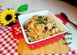 孜然牛肉炒大米饭
