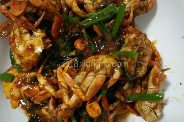 香辣炒螃蟹