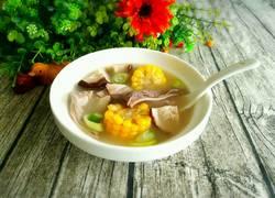 香菇玉米肚片汤