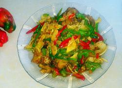 笋子炒回锅肉