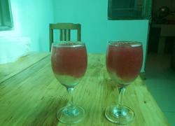 冰块西瓜汁