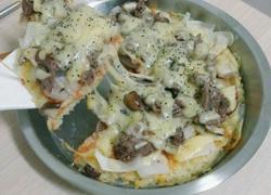 电饭锅版披萨
