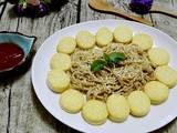 玉子豆腐烩金针菇的做法[图]