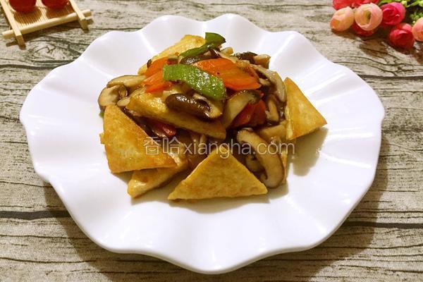 香菇炒豆腐