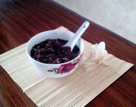 红豆燕麦粥