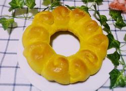 南瓜肉松面包(无黄油)