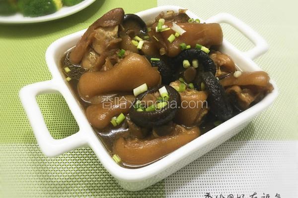 香菇卤猪手(自制)
