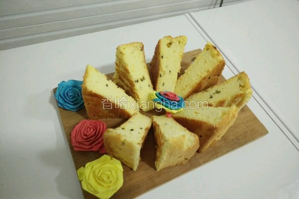 百香果戚风蛋糕