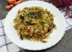雪菜炒肉丝
