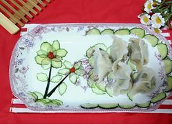 虾仁韭菜肉三鲜饺子