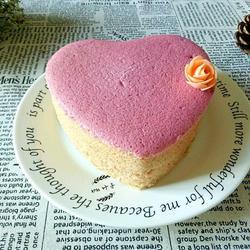 红心火龙果酸奶蛋糕