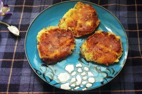 培根芝士薯饼
