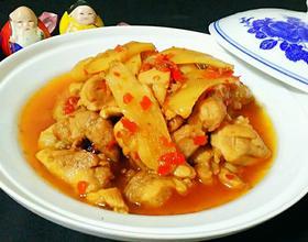 酸姜泡椒鸡