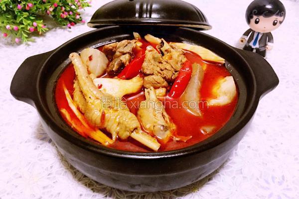 芋儿烧鸡的做法大全_笋子芋儿鸡(烧鸡公)的做法_菜谱_香哈网