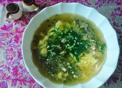 蛋花猪肝汤
