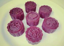 紫薯芝士奶黃糕
