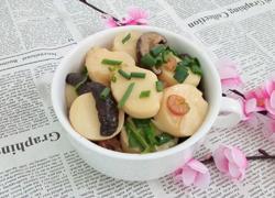 玉子豆腐炖香菇虾米