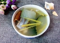 姜丝陈皮冬瓜汤
