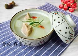 排骨冬瓜粥(剩米饭版)