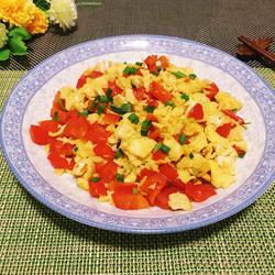 甜椒炒鸡蛋