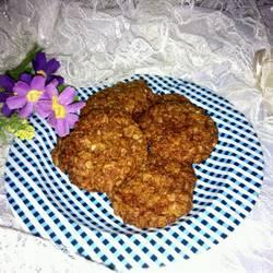 蜂蜜燕麦饼干