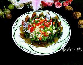 蒜香凉拌皮蛋豆腐[图]