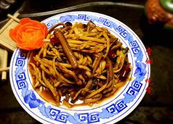 茭白炒鳝丝