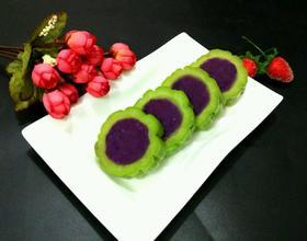 紫薯苦瓜圈(蜂蜜版)