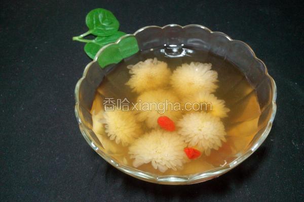 菊花银竹汤