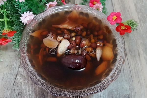 三豆百合红枣粥