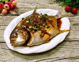 紅燒鯧魚[圖]