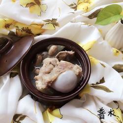 蘑菇茯苓大骨汤