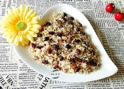 麻香葡萄干海鲜炒饭