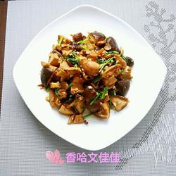 蒜蓉酱香香菇