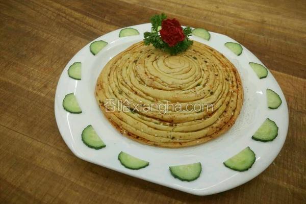 椒盐螺丝饼