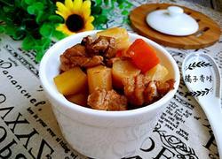 鸭腿肉炖山药土豆