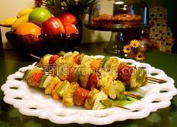 火鸡肉烤串