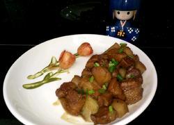 毛芋头卤肉(红烧肉)