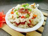 香菇腊肠焖饭的做法[图]