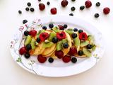 蜂蜜水果松饼的做法[图]