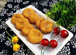 椰香红薯饼