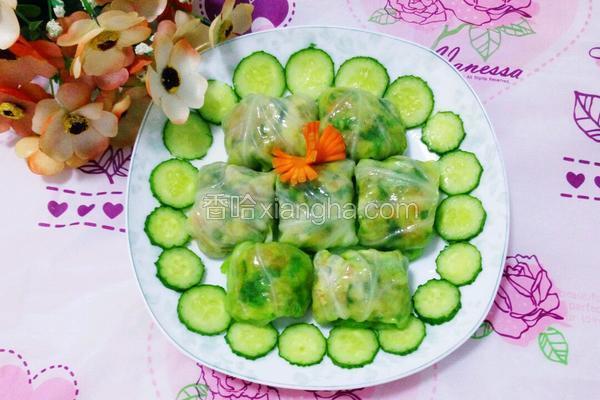 翡翠包肉(卷心菜包肉)