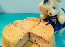 蜂蜜蓝莓戚风蛋糕(6寸)